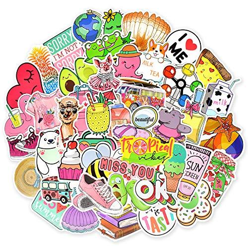 Aufkleber Pack Graffiti Sticker Decals Vinyls für Laptop, Kinder,Skateboard, Auto, Motorrad, Snowboard, iPhone, Nintendo Bomb Stickers Wasserdicht(Cute)