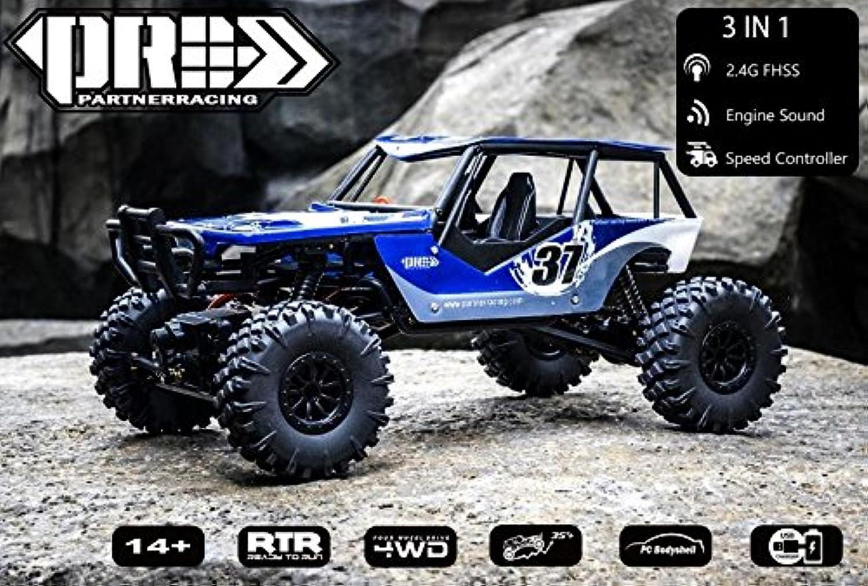 Generic PRC 1 18 RC Car 4WD Rock Crawlers 4x4 Driving Car Mini Desktop Climbing car Remote Control OffRoad Vehicle Toy Engine Sound C