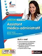 Livres Concours Assistant médico-administratif - Catégorie B - Intégrer la fonction publique - 2019/2020 PDF