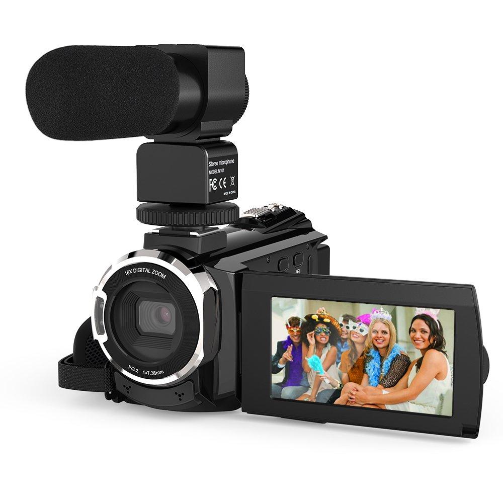 Andoer Camcorder Microphone Capacitive Touchscreen