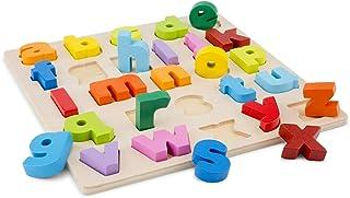 Nya klassiska leksaker 10535 pussel alfabet (pennfodral), flerfärgad färg