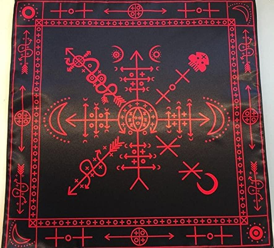 Ritual Tablecloth Rites Voodoo Black Version