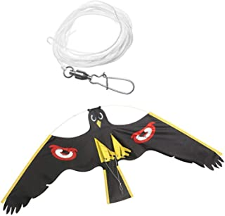 TX GIRL Flying Hawk Drive Bird Scarer For Garden Scarecrow Yard Home Breeze Easy Fly Bird Repeller (اللون: B)