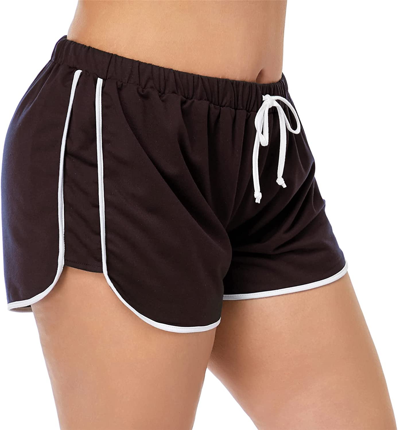 Women Plus Size Dolphin Shorts Athletic Shorts Running Short for Gym Sports Active Yoga Workout Loungewear