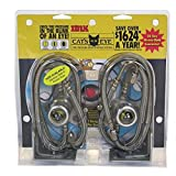 Cat's Eye Tire Pressure Maintenance System Dual Trucks Trailer 110PSI...