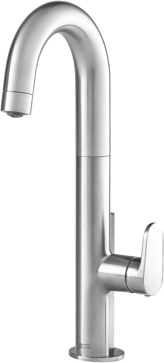American Standard 4931410 075 Beale Single Handle Pull Down Bar Faucet In Stainless Steel Amazon Com