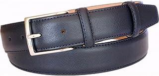 ESPERANTO Cintura in pelle stampa saffiano 35 mm