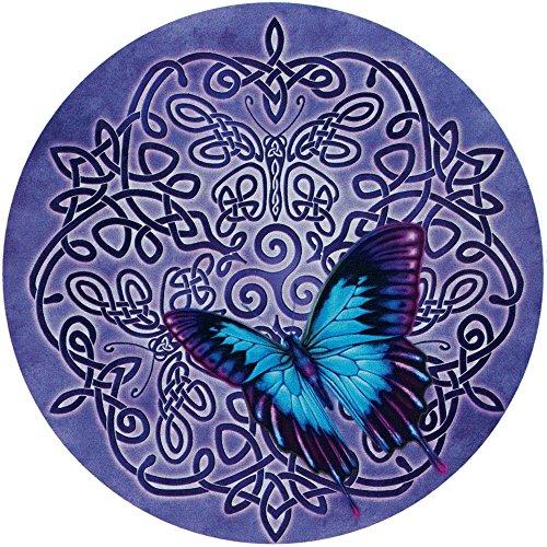 Celtic Butterfly - Bumper Sticker/Decal (4.5' Circular)