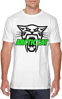 Mens Fashion Arctic Cat Cool Cat T Shirts White