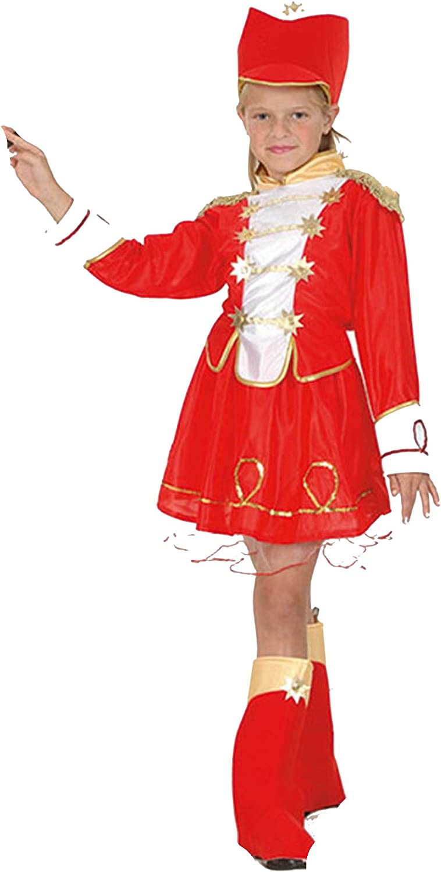 Majorette - Kinder-Kostüm - Large - 134 bis 146 cm
