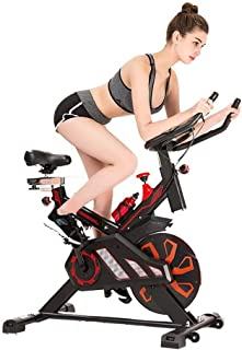 HLH-Fitness Equipment Durable Spinning Bike Advanced with Training Computer and Elliptical Cross Trainer Non-Slip