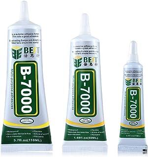 ChaRLes Mejor B-7000 Multi Propósito Pegamento Adhesivo Epoxi Resina De Bricolaje De Vidrio Pantalla Táctil Teléfono Celular Super Pegamento - 50ml