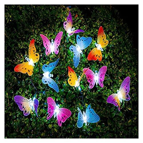 CAIFEIYU Solar DIRIGIÓ Luces de decoración de jardín de champiñones al Aire Libre Ligero IP66 Decoración de Muebles de Guirnalda de jardín Impermeable Luces de Hadas de células solares
