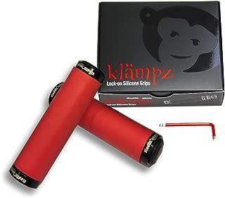 RedMonkey Klampz Lock On Grip with Black Collars