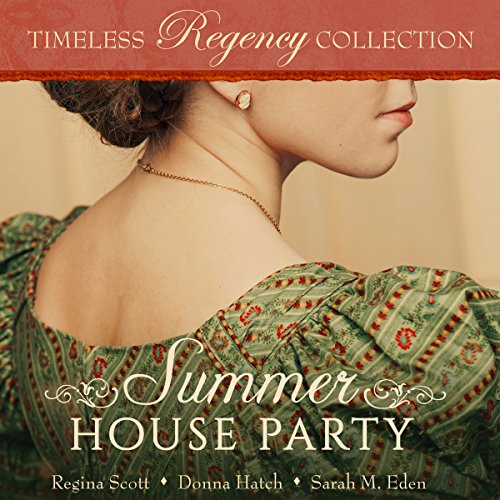Summer House Party audiobook cover art