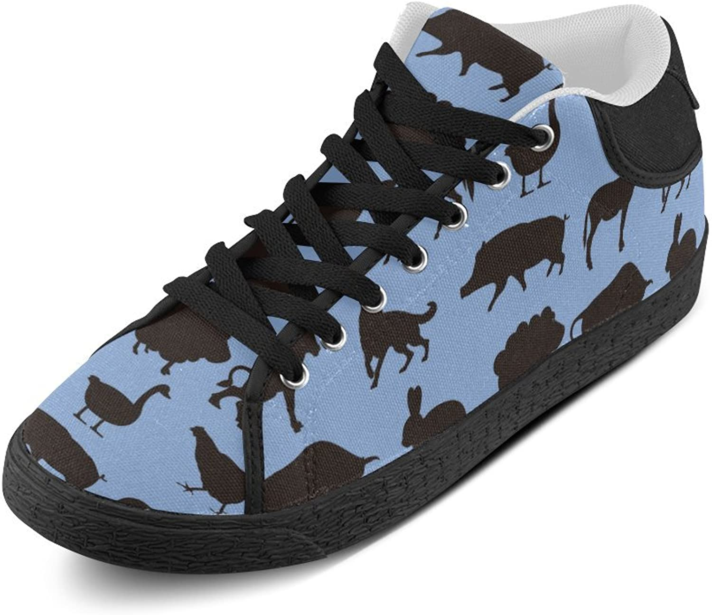 CERLYRUAN Getfarm Animal duk Chukka herrar skor skor skor  noll vinst