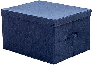 Panier de rangement simple, boîte de rangement pour vêtements, panier, panier de rangement multifonction, beau rangement (...