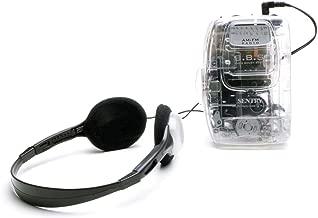 Sentry TR792 Transparent AM/FM Cassette Player