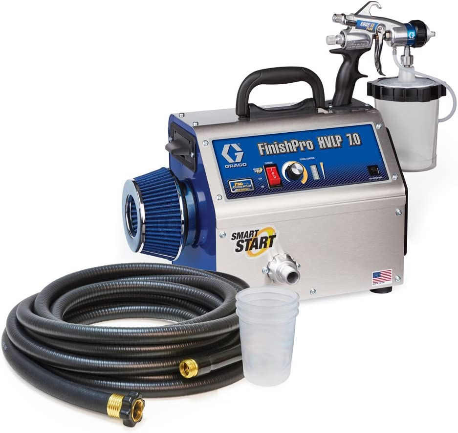 Graco 17N265 Houston Mall FinishPro HVLP Spring new work 7.0 ProContractor Series