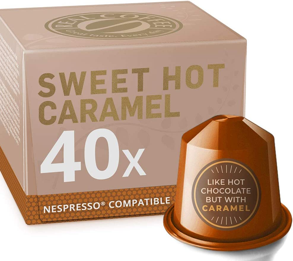 Max 53% OFF El Paso Mall Sweet Caramel Toffee for Nespresso. and 40 Creamy. Nespres