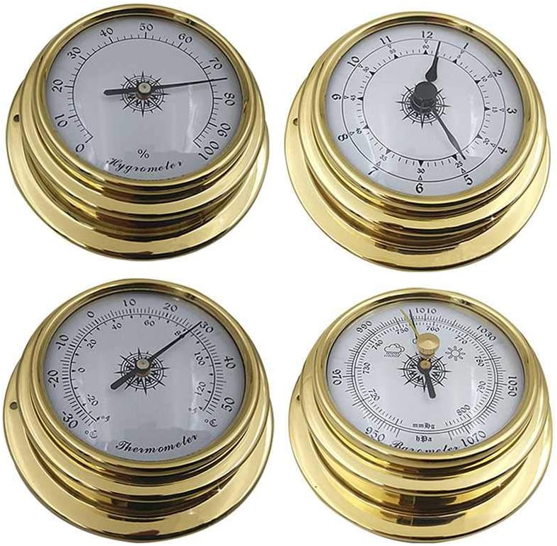 BEKwe Wall Popular shop is the lowest price challenge Mounted Household Hygrometer Elegant Thermometer Barometer We