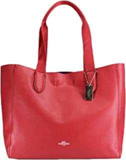 DERBY TOTE IN PEBBLE LEATHER