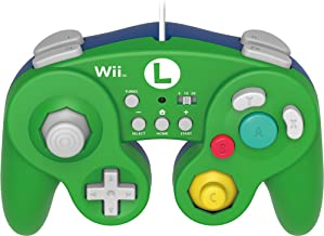 $72 » HORI Battle Pad for Wii U (Luigi Version) with Turbo - Nintendo Wii U