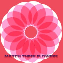 Match Three Flowers