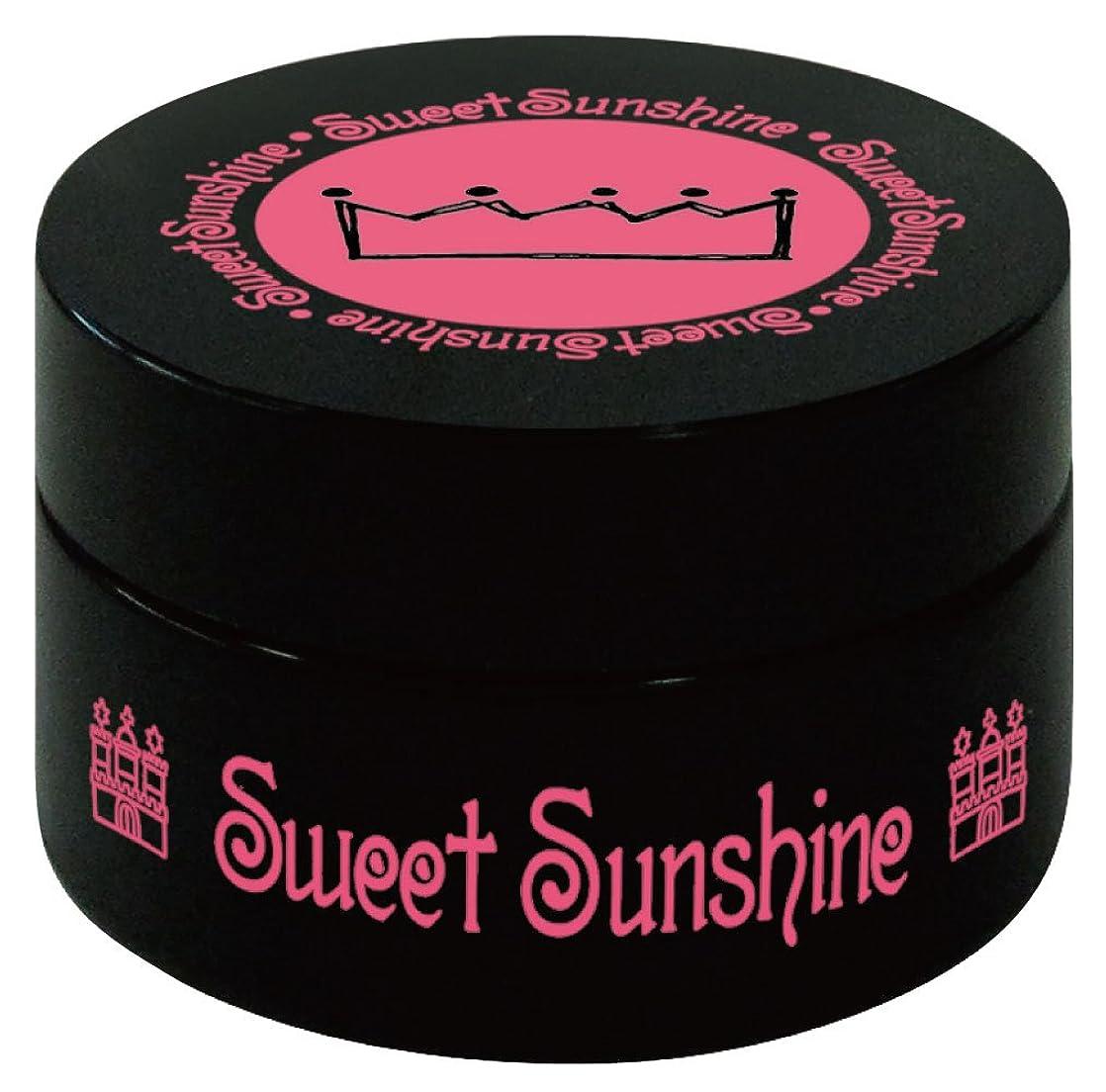 曲げる味長方形Sweet Sunshine カラージェル 4g HC- 8 レジェンデールローズ グリッター UV/LED対応