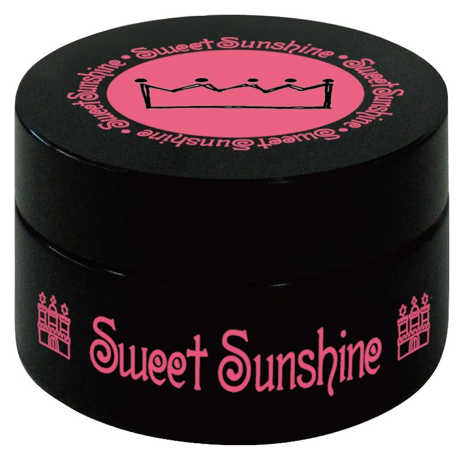 毛皮どこにも周術期Sweet Sunshine カラージェル 4g HC- 8 レジェンデールローズ グリッター UV/LED対応