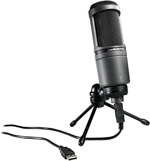 Audio-Technica AT2020USB Cardioid Condenser USB Microphone (Discontinued)
