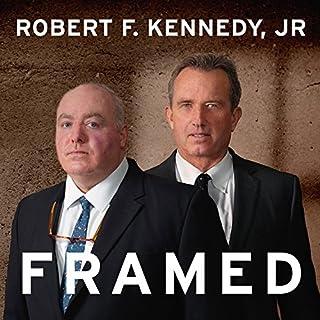 Framed audiobook cover art