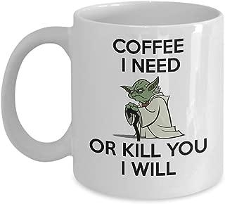 Best yoda coffee mug coffee i need Reviews