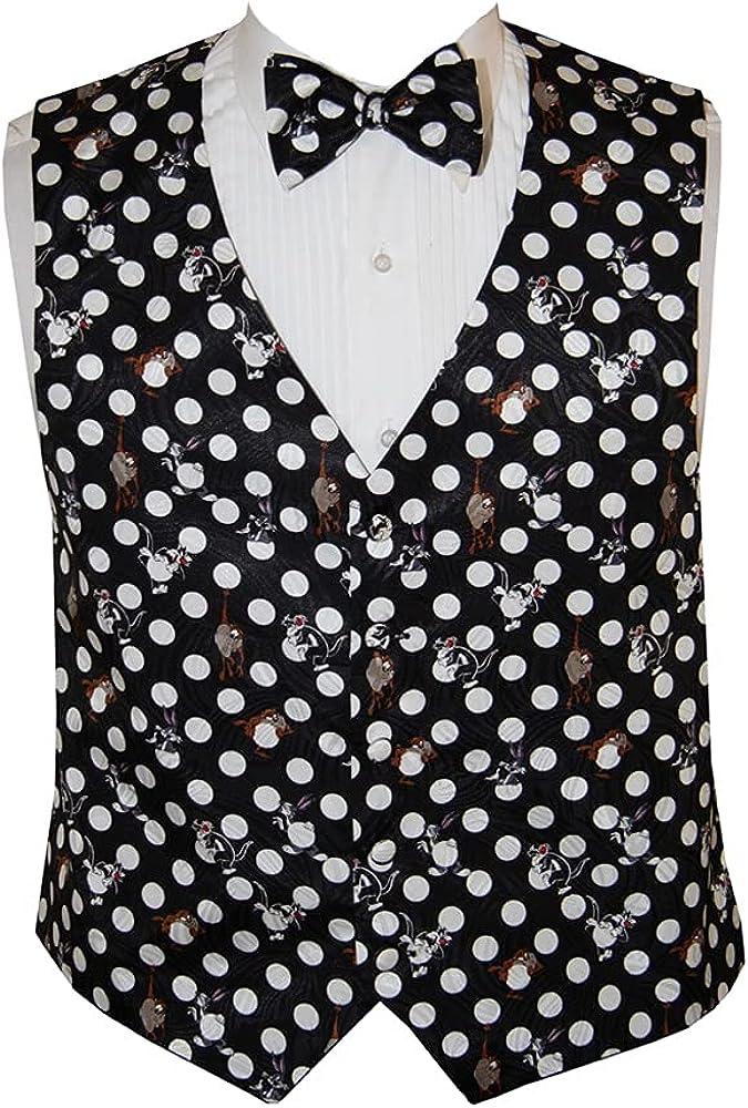 Men's Bugs Bunny Tuxedo Vest and Bow Tie