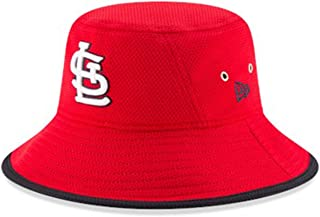 New Era Authentic, NWT, St. Louis Cardinals Bucket Hat Red- OSFM