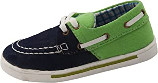 Beanie Bugs Green Casual Shoes for Older Boys
