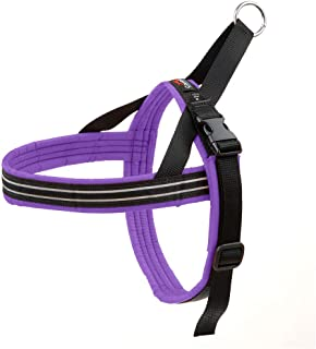 ComfortFlex American Made Quick Fit Fully Padded Non-Chafing Reflective Sport Dog Harness for Active Dogs