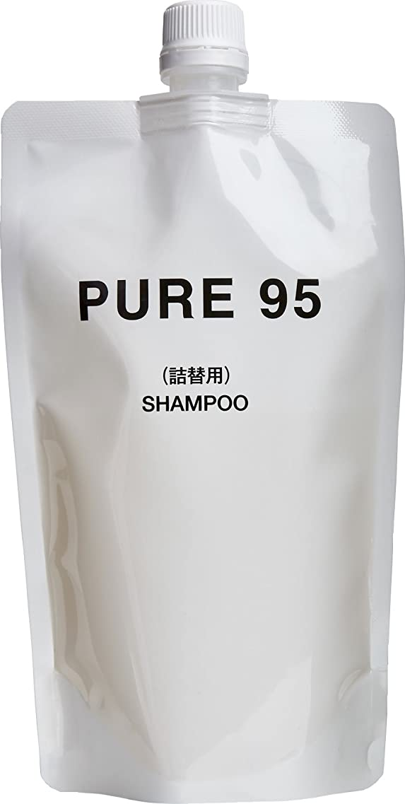 ハチ不道徳パーミングジャパン PURE95 シャンプー 360ml レフィル (400ml ボトル用 詰め替え)