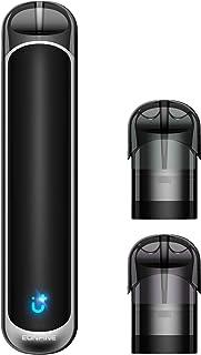 Eonfine 電子タバコ vape ベイプ 水蒸気タバコ でんしたばこ 人気 禁煙グッズ フレーバーポッド2個付き 軽量 コンパクト ニコチン タール なし ブラック