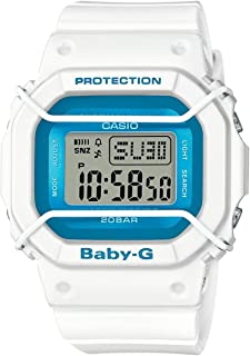 Casio Baby-G BGD501FS-7 Silicone Analog Quartz Unisex Watch (Blue / White)