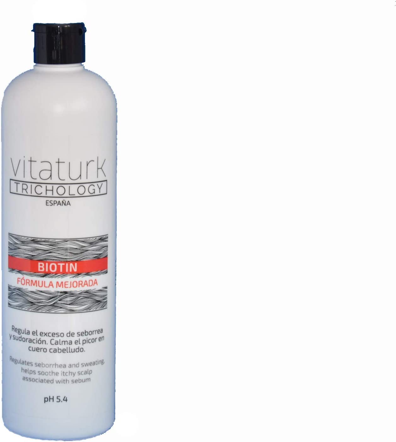 NUEVO CHAMPÚ BIOTIN VITATURK 500 ml. NUEVA FORMULA MEJORADA. Anticaída para cabellos finos, frágiles. Regenera y da volumen. Especialmente indicado para cabello graso | FABRICADO EN ESPAÑA |