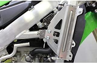 Works Connection 12-15 Kawasaki KX450F Radiator Braces (Silver)