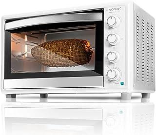 Cecotec Bake&Toast 790 -  Horno Conveccion Sobremesa, Capacidad de 46 litros, 2000 W, 12 Modos, Temperatura hasta 230ºC y Tiempo hasta 60 Minutos, Incluye Accesorio Rustidor con pinzas