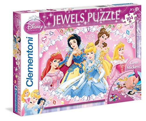 Clementoni - Puzzle 104 Piezas Cenicienta con Joyas 17-20018