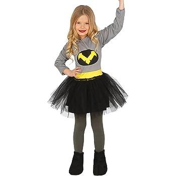 Guirca- Disfraz niña murciélago, Talla 7-9 años (83218.0): Amazon ...