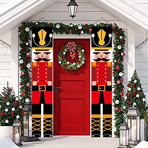 70.8 Inch Nutcracker Christmas Decorations, Outdoor Indoor Xmas...