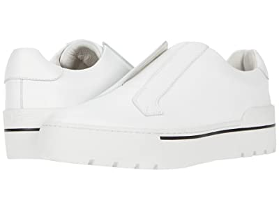 J/Slides Nyrie (White Leather) Women