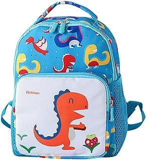 Mochila Sencillo Vida para Niños con Dseño Animal de Dibujos Animados. Backpack Toddler School Bag, Mochila Escolar Unisexo para Niños de 2 a 6 años de Edad, Dinosaurio