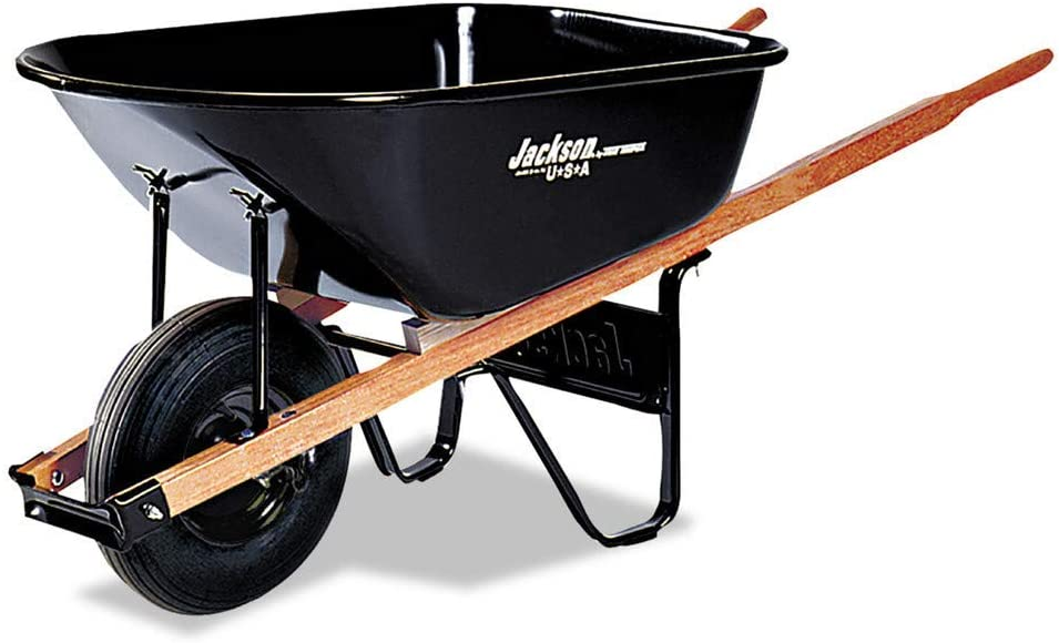 Jackson Outlet ☆ Free Shipping Contractors Wheelbarrows - Contractor 6cu.ft. Tray cheap Steel