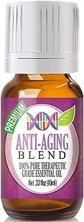 Anti-Aging Essential Oil Blend - 100% Pure Therapeutic Grade Anti-Aging Blend Oil - 10ml